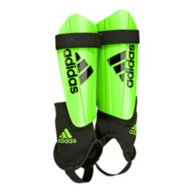 adidas Ghost Club Shin Guards - Solar Green/Black