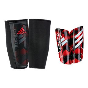 adidas Ghost Graphic Shin Guards - Black White Red 0abe250de6