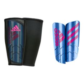 adidas Ghost Pro Shinguards - Blue/Shock Pink