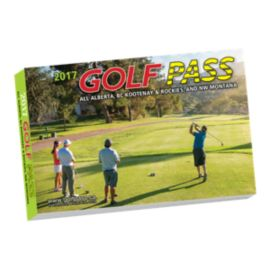 Golf Pass Book - AB, BC, Rockies and NW Montana 2017