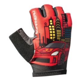 Louis Garneau Kid Ride Cycling Gloves - Red