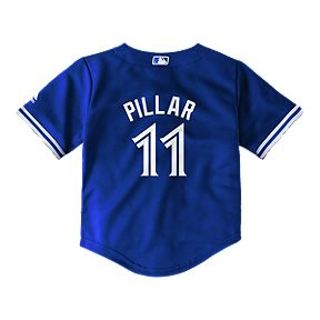 521ba7555 Toronto Blue Jays Toddler Kevin Pillar Cool Base Baseball Jersey