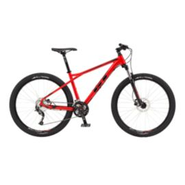 GT Avalanche Sport Men's 27.5 Red Mountain Bike - 2017