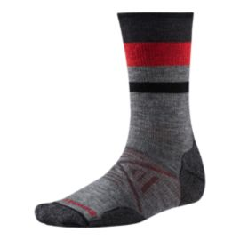 Smartwool PhD Outdoor Medium Pattern Men's Crew Socks