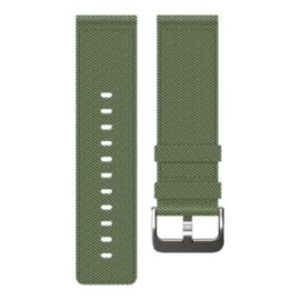 Fitbit Blaze Nylon Accessory Band - Olive Large