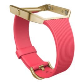 Fitbit Blaze Slim Accessory Band and Frame - Pink Small