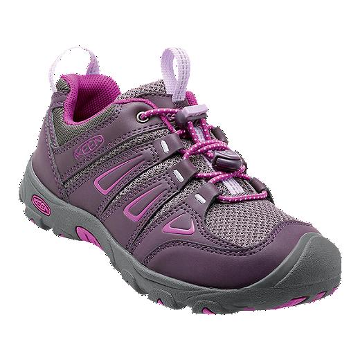 25379b7c2de6c Keen Girls' Oakridge Low Hiking Boots - Plum/Purple | Sport Chek