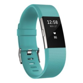 Fitbit Charge 2 Fitness Tracker - Teal Large