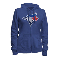 Toronto Blue Jays French Terry Women s Full-Zip Hoodie  52e11dbe4