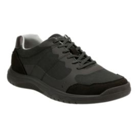 Clarks Men's Votta Edge Cloud Casual Shoes - Black