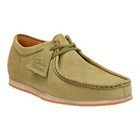 Clarks Men S Wallabee Step Casual Shoes Olive