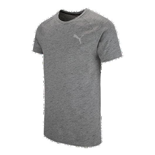 99cf6ef3b09f PUMA Men s Evostripe Spaceknit Short Sleeve Shirt