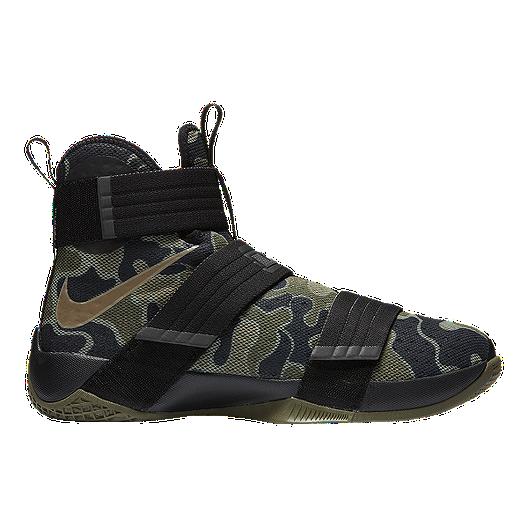 df9b9b797ef4 Nike LeBron Soldier 10 SFG Camo Men s Basketball Shoes
