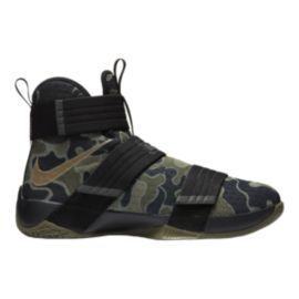 Nike LeBron Soldier 10 SFG Camo Men's Basketball Shoes