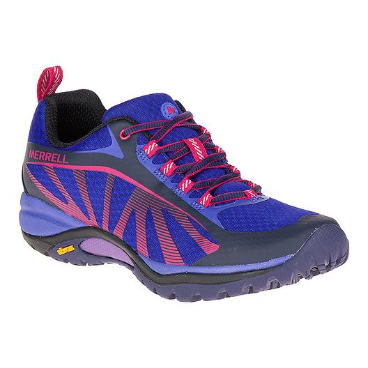 80bcb37a9471c Merrell Women s Siren Edge Hiking Boots - Blue Pink