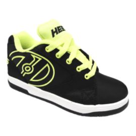 Heelys Kids' Propel 2.0 Grade School Skate Shoes - Black/Yellow