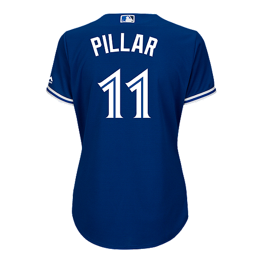new style 1939a 66173 Toronto Blue Jays Kevin Pillar Cool Base Women's Baseball ...