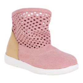 Emu Girls' Numeralla Preschool Shoes - Pink