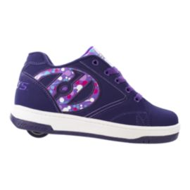 Heelys Girls' Propel 2.0 Grade School Skate Shoes - Purple/White