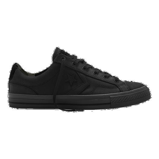 a29cf55e3ae1 Converse Men s CONS Star Player Knit Ox Skate Shoes - Black Jute ...