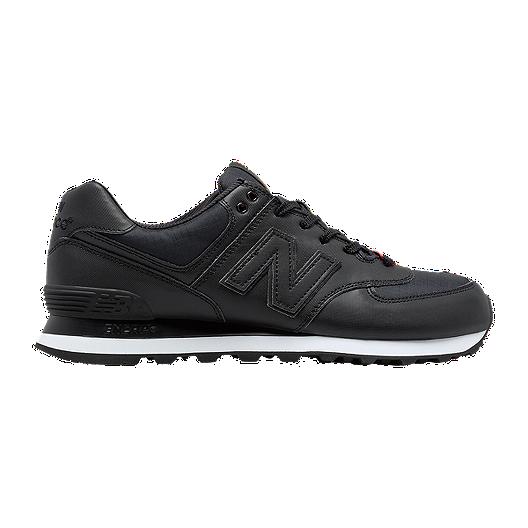 d6b12b12b0fe4 New Balance Men's 574 Flight Jacket Shoes - Black   Sport Chek