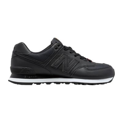 New Balance Men's 574 Flight Jacket Shoes - Black