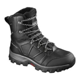 Salomon Men's Toundra Mid Waterproof Winter Boots - Black