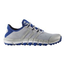 Adidas Golf Men's Adicross Climacool Motion Golf Shoes - Silver/Blue