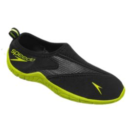 Speedo Kids' SurfWalker Pro 2.0 Sandals - Black/Yellow