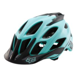 Fox Flux Women's Ice Blue Bike Helmet