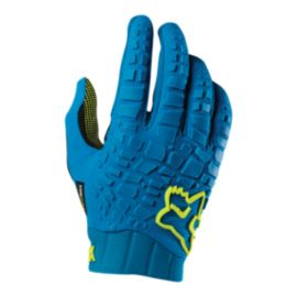 Fox Sidewinder Teal Cycling Gloves