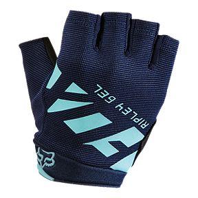 Fox Ripley Gel Women s 1 2 Finger Ice Blue Cycling Gloves 4b222310e