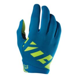 Fox Ranger Teal Cycling Gloves