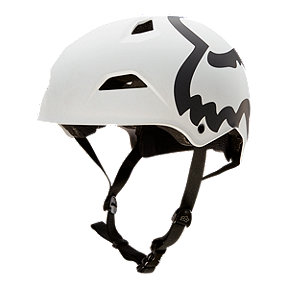 Fox Flight Eyecon Hardshell White Bike Helmet