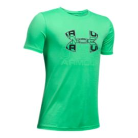Under Armour Boys' Infusion Logo Tech T Shirt