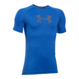 Under Armour Boys' Armour Short Sleeve Shirt