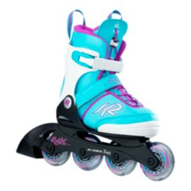 K2 Marlee Pro LT Junior Adjustable Inline Skates - Blue 2017