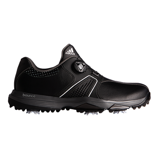 31612d5f6 adidas Golf Men s Adi 360 Traxion Boa Shoes - Black White Silver ...