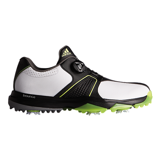 3e510c497 adidas Golf Men s Adi 360 Traxion Boa Shoes - White Black Yellow ...