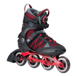 K2 F.I.T. 84 BOA Men's Inline Skates - Black/Red