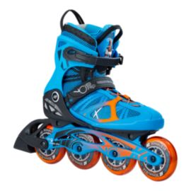 K2 VO2 90 Pro Men's Inline Skates - Blue/Orange