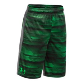 Under Armour Boys' Printed Instinct Shorts