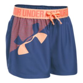 Under Armour Girls' Under Armour Play Up Graphic Shorts