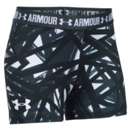 Under Armour Girls' HeatGear Printed Shorts