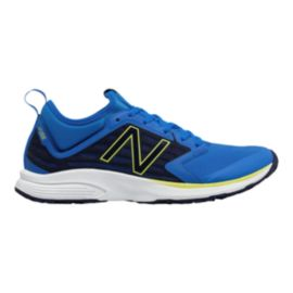 New Balance Men's Vazee Quick Trainer V2 2E Wide Width Training Shoes - Blue/Black/White