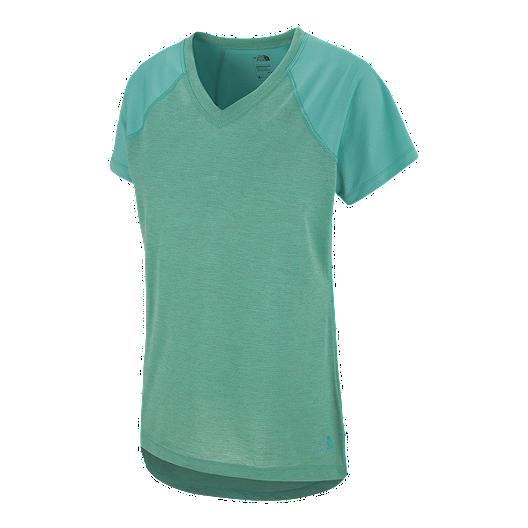 0f8809f9d The North Face Women's Reactor V-Neck Short Sleeve Shirt | Sport Chek