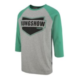 Gongshow Men's Stamp Of Approval 3/4 T Shirt