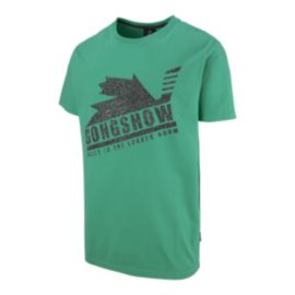 Gongshow Men's Mean In Green Short Sleeve T Shirt