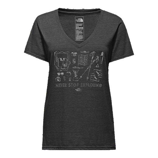 e23e88e96 The North Face Women's Gear Layout Boyfriend Tri-Blend T Shirt ...