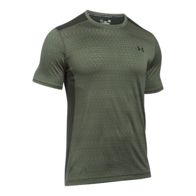Under Armour Men's Raid Jacquard Short Sleeve Shirt